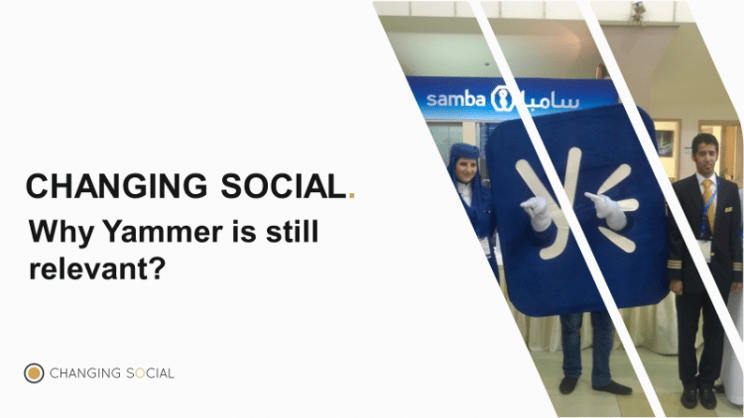Yammer Functionality