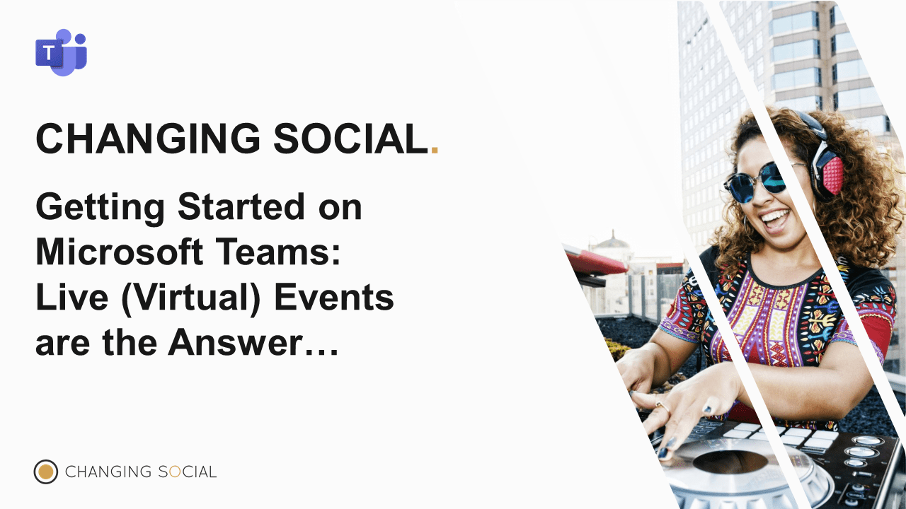 Teams Live Events