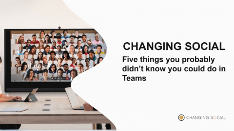 five things you didn't know you could do in teams