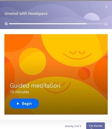 Employee Wellbeing Headspace App