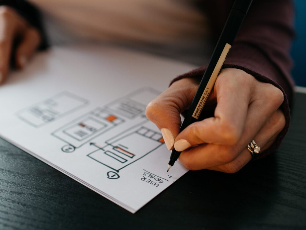 App building on paper